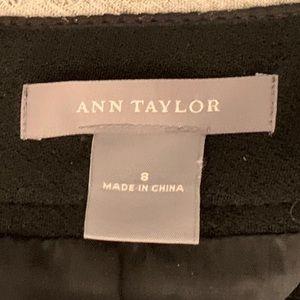 Ann Taylor Skirts - Ann Taylor black and white pencil skirt.